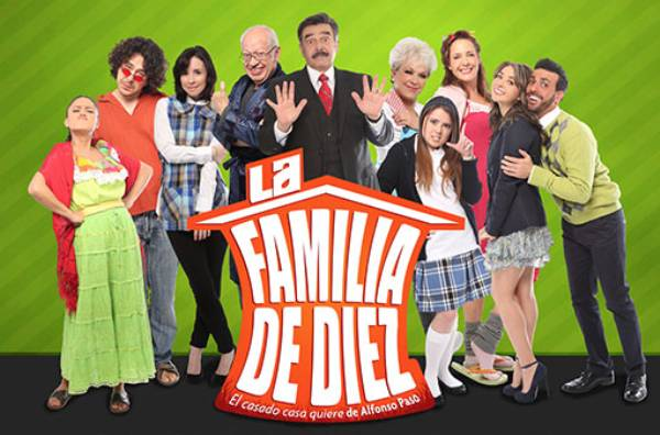 La Familia de Diez at McAllen Performing Arts Center