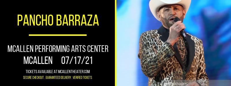 Pancho Barraza [POSTPONED] at McAllen Performing Arts Center