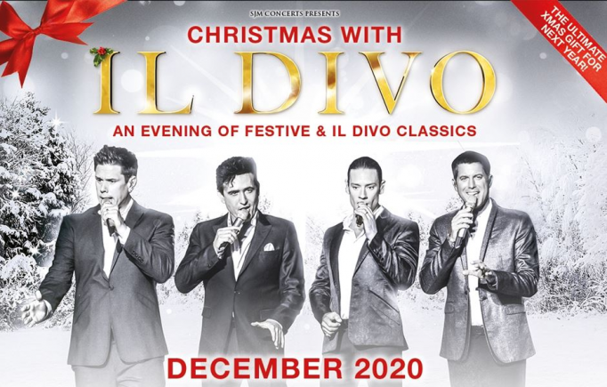 Il Divo at McAllen Performing Arts Center