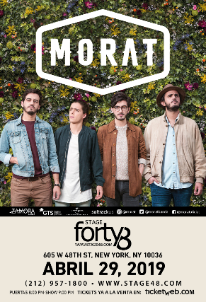 Morat at McAllen Performing Arts Center