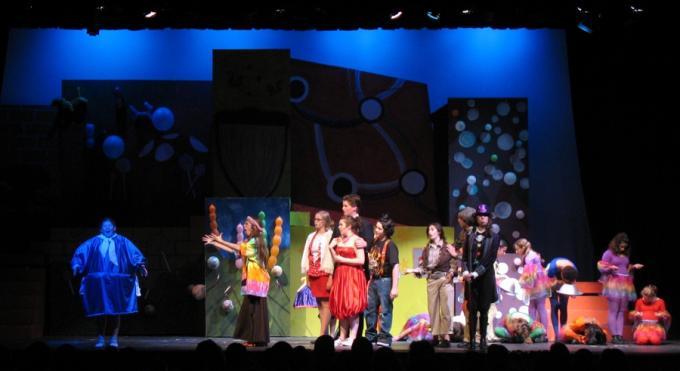 Willy Wonka Jr. at McAllen Performing Arts Center