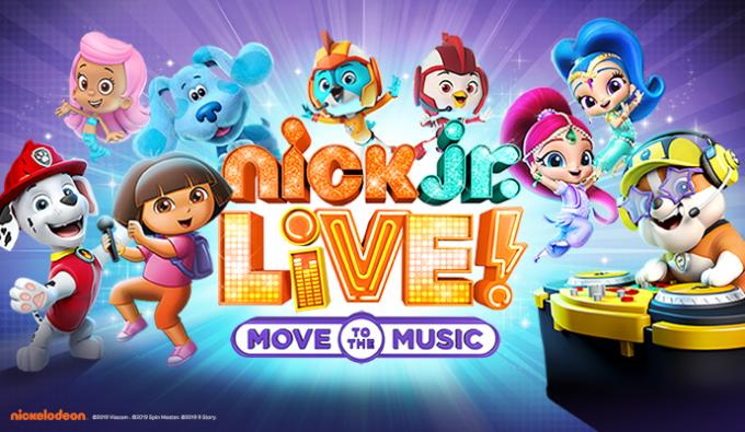 Nick Jr. Live! Move to the Music at McAllen Performing Arts Center