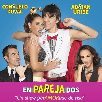 EnParejaDos: Adrian Uribe & Consuelo Duval at McAllen Performing Arts Center