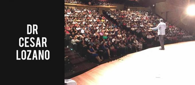 Dr. Cesar Lozano at McAllen Performing Arts Center