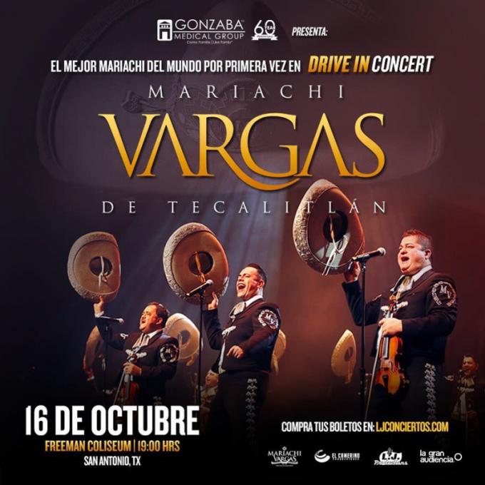 Mariachi Vargas De Tecalitlan at McAllen Performing Arts Center